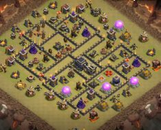 best town hall 9 war base designs 2019