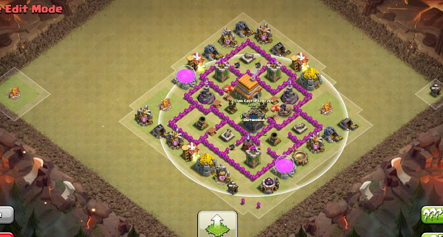epic town hall 6 war base anti everything