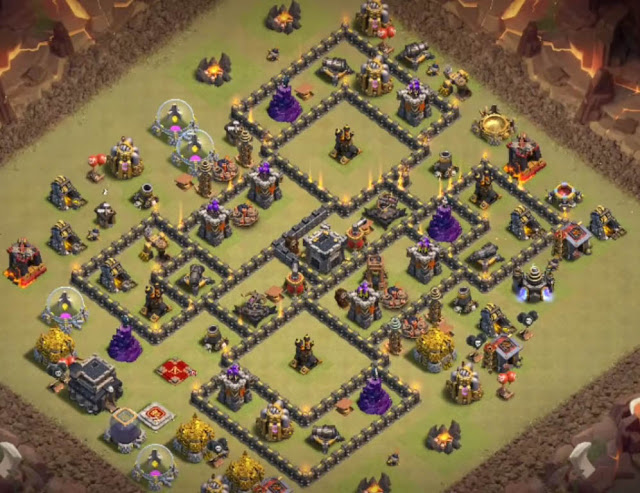 exceptional level 9 war base design