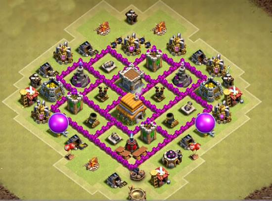 Coc Th 6 Best War Base 5
