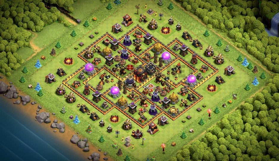 best town hall 10 farming base link anti everything
