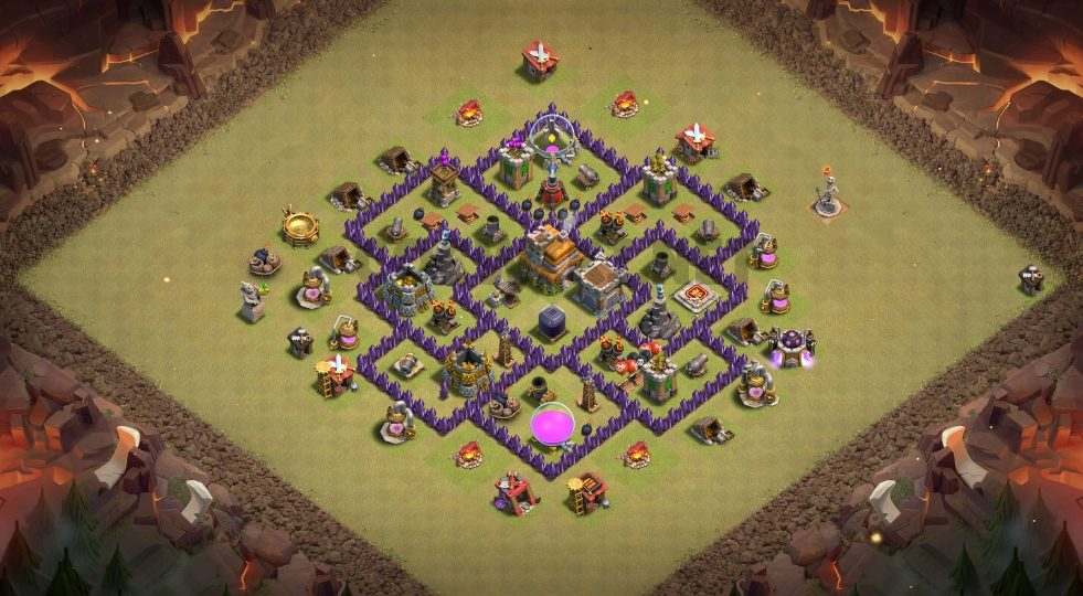 coc th7 war base link
