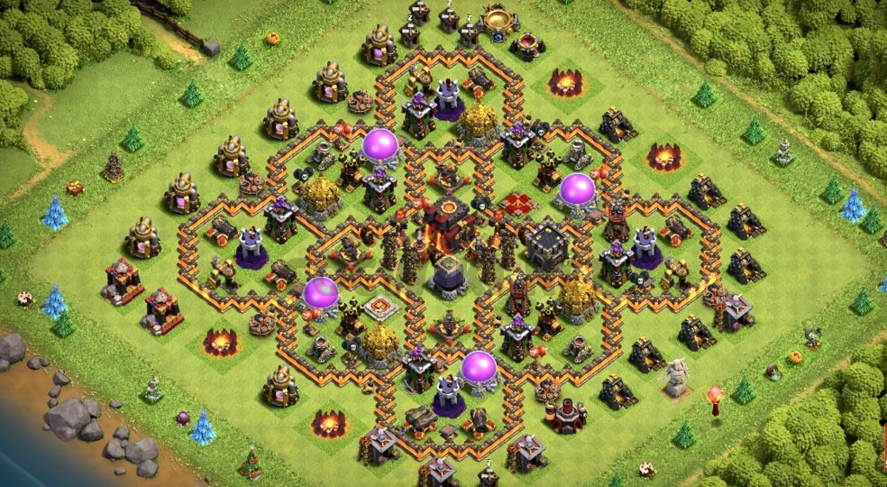 th10 farming layout link anti 3 stars
