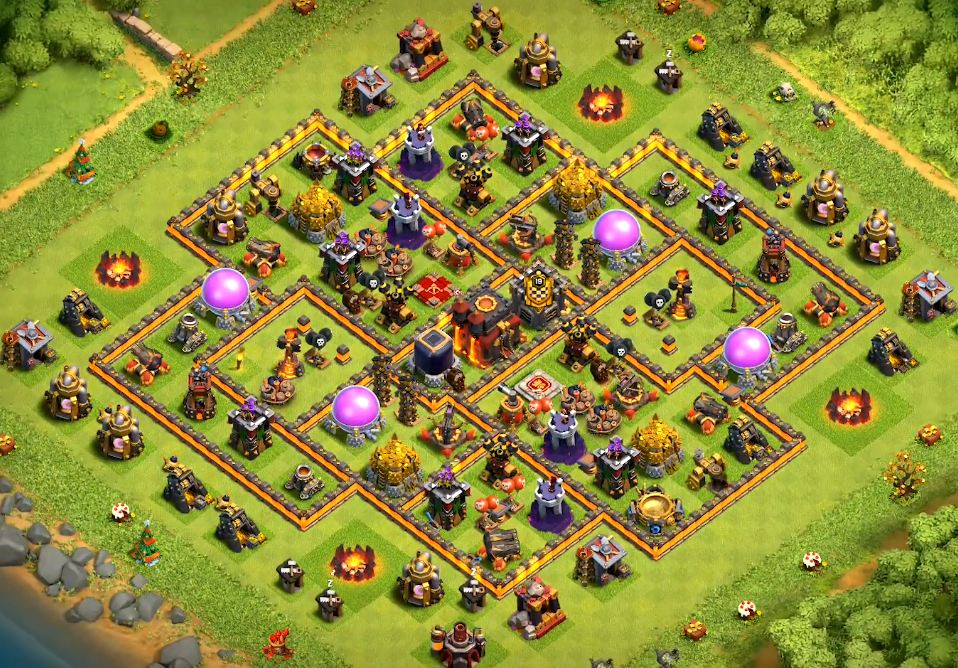 th10 war base link 2020
