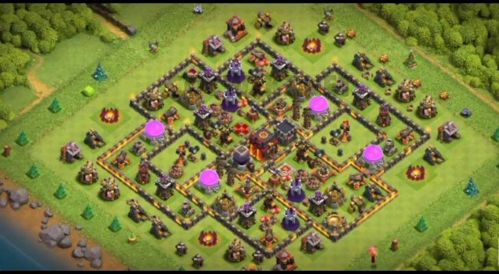 level ten farming base anti 2 star