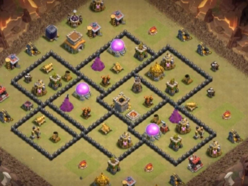 level 8 war base design anti air link