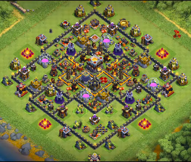 Clash of Clans th10 base in the world