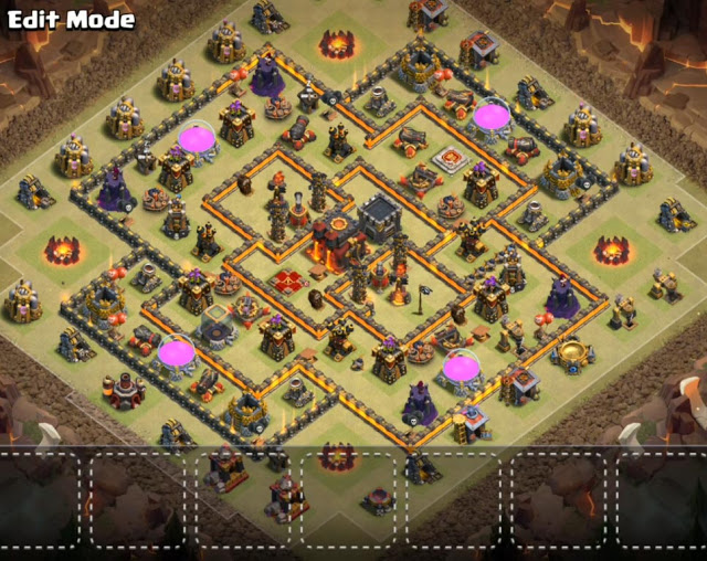 anti 3 star tow hall 10 base design