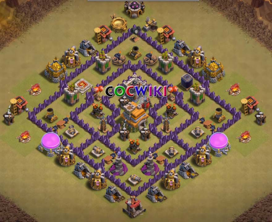 best layout for th7