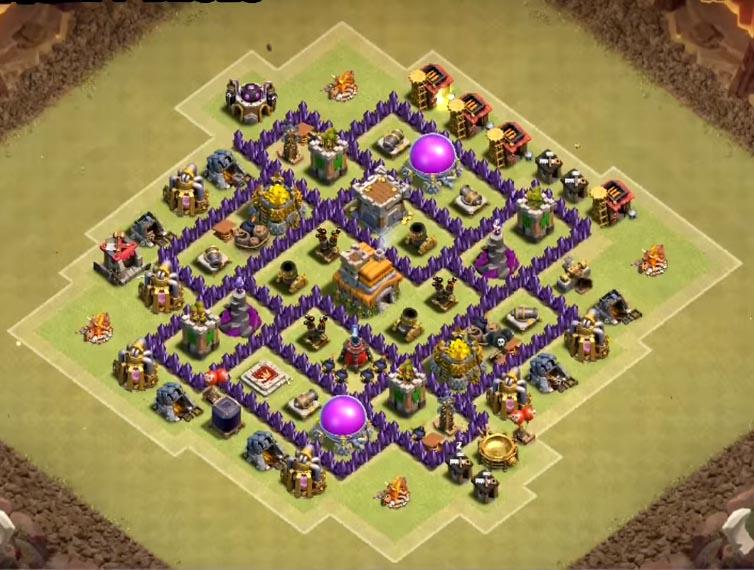 best level 7 war base