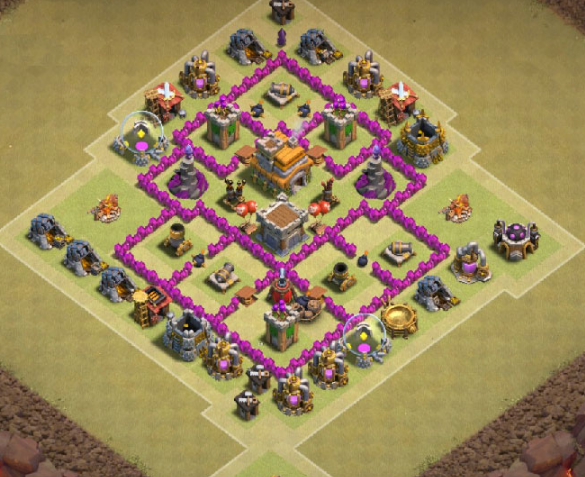 best th6 base design