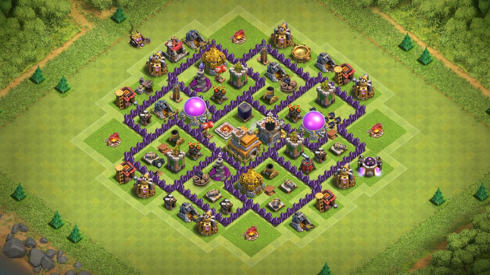 12 Best Town Hall 7 Farming Base 2020 Cocwiki