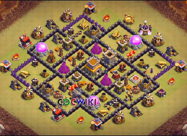 20 Best Th8 Base Designs 2019 For War Farming Trophies Cocwiki
