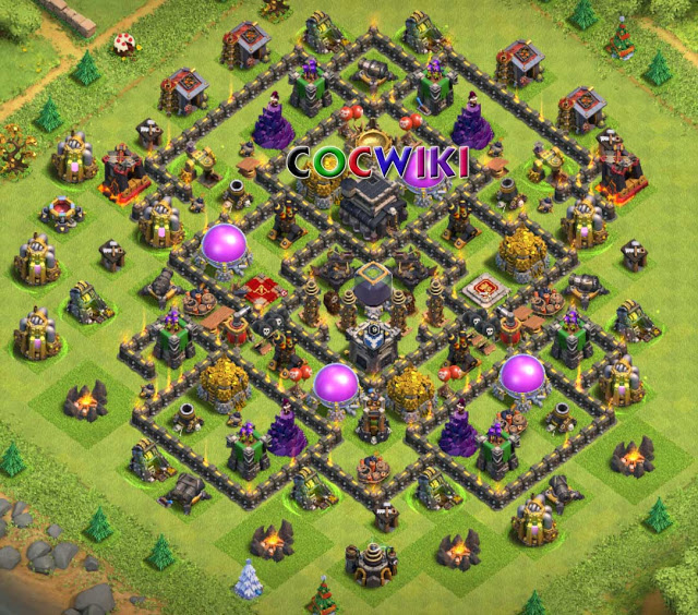 Coc Th 9 Best Base 9
