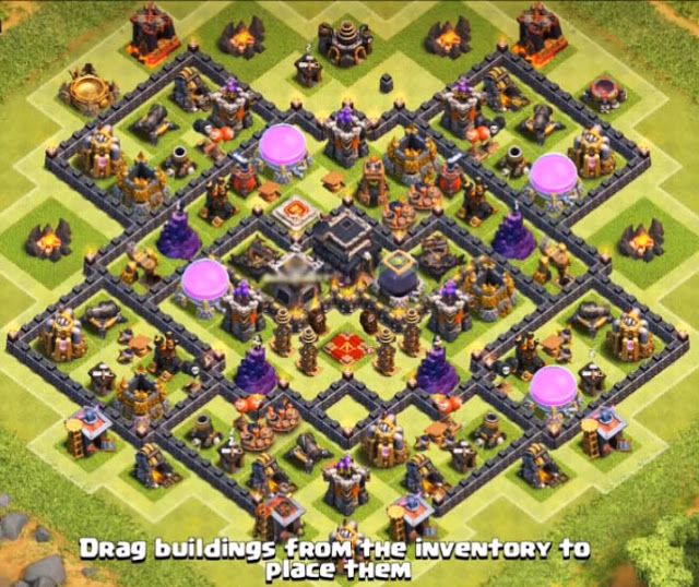 best th9 farming base layout in the worldbest th9 farming base layout in the world