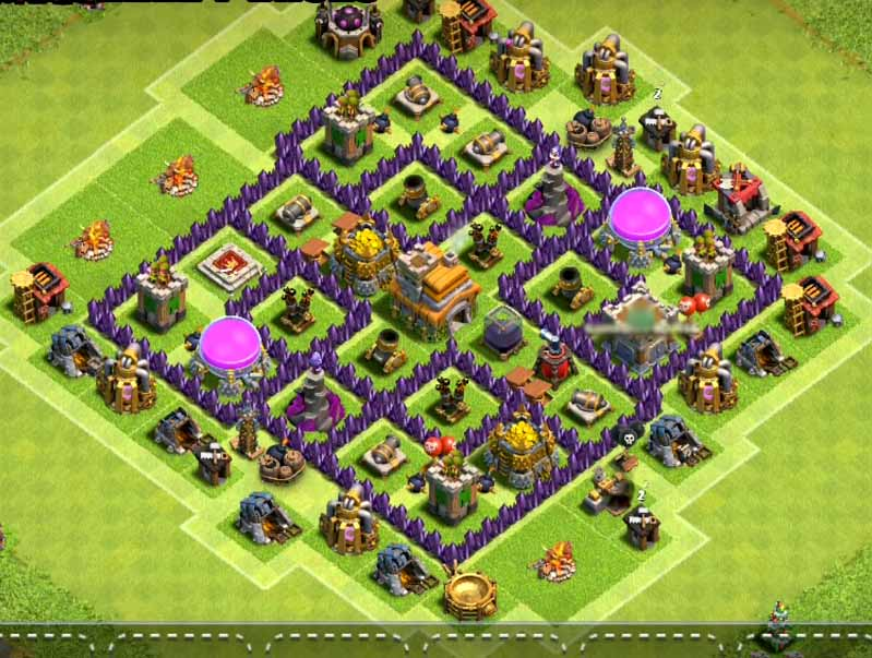 Home Base Coc Th 7 4