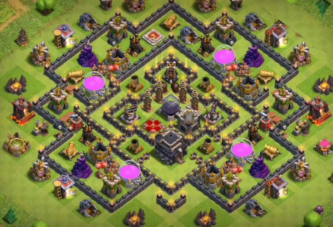 best town hall 9 base