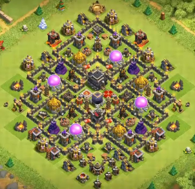 Base Farming Th Base Th 9 Terkuat 2019 7