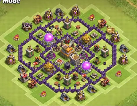 epic town hall 7 farming base for 2019