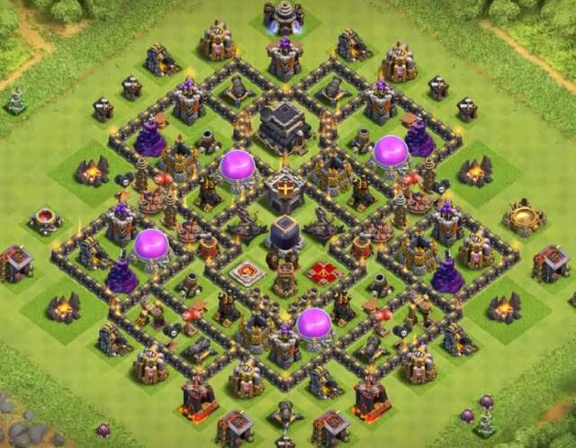 epic town hall 9 farming defense base