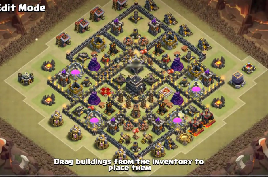 epic town hall 9 village design