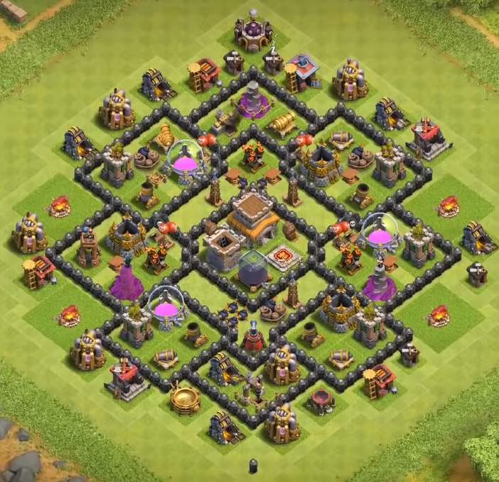 good farming base level 8