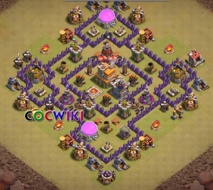level 7 war base