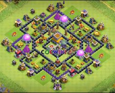 level 8 farming base design anti everything