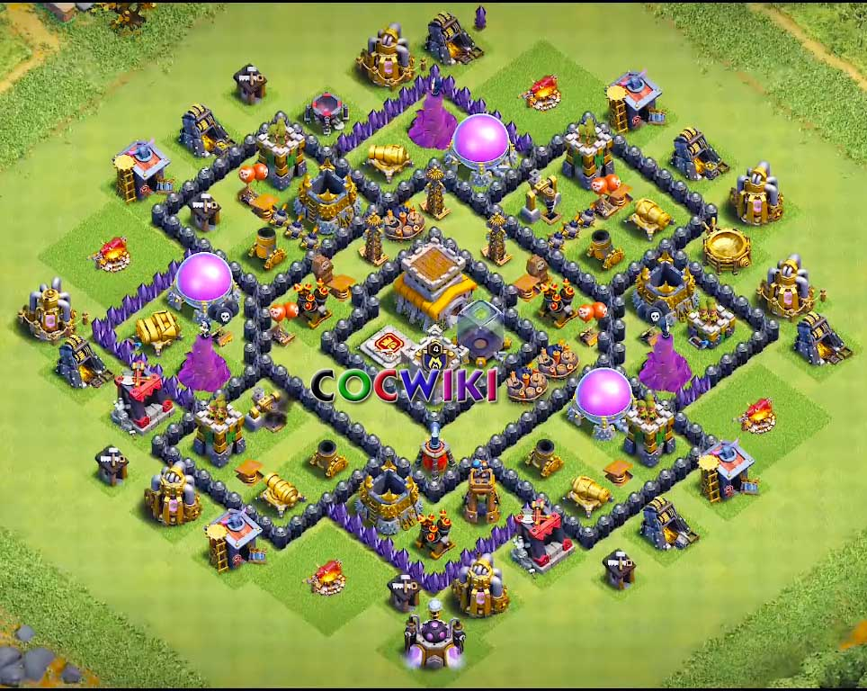 The Best Base Th 8 10