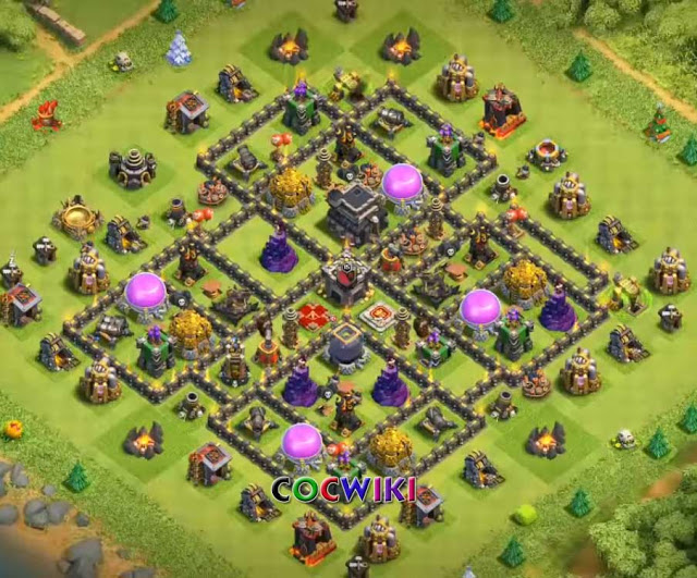 level 9 farming base