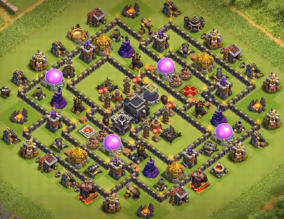 town hall 9 farming base layout 2019