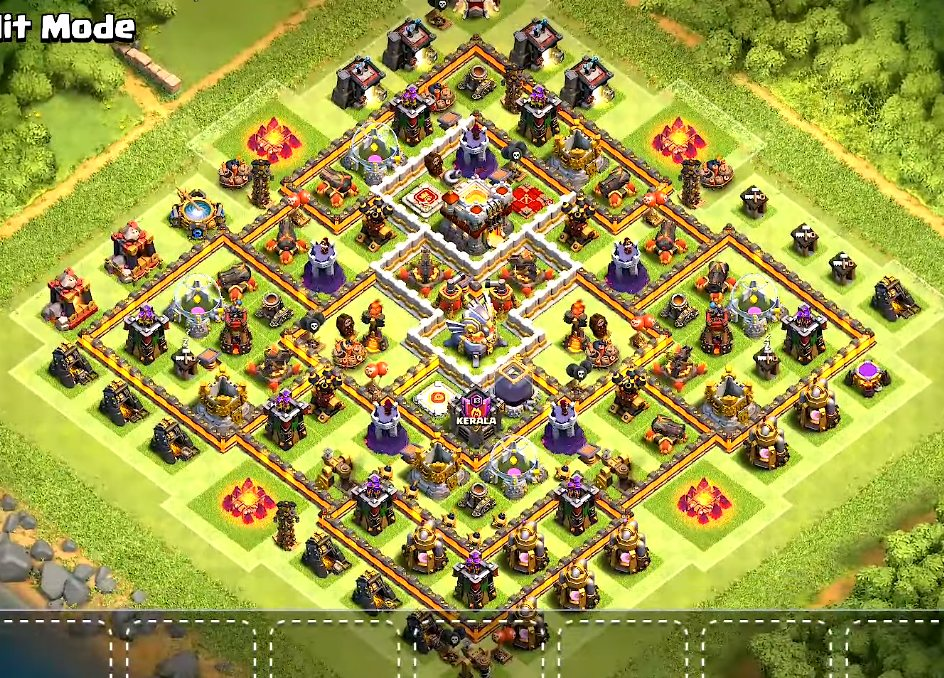 Base Coc Th 11 Terkuat War 2
