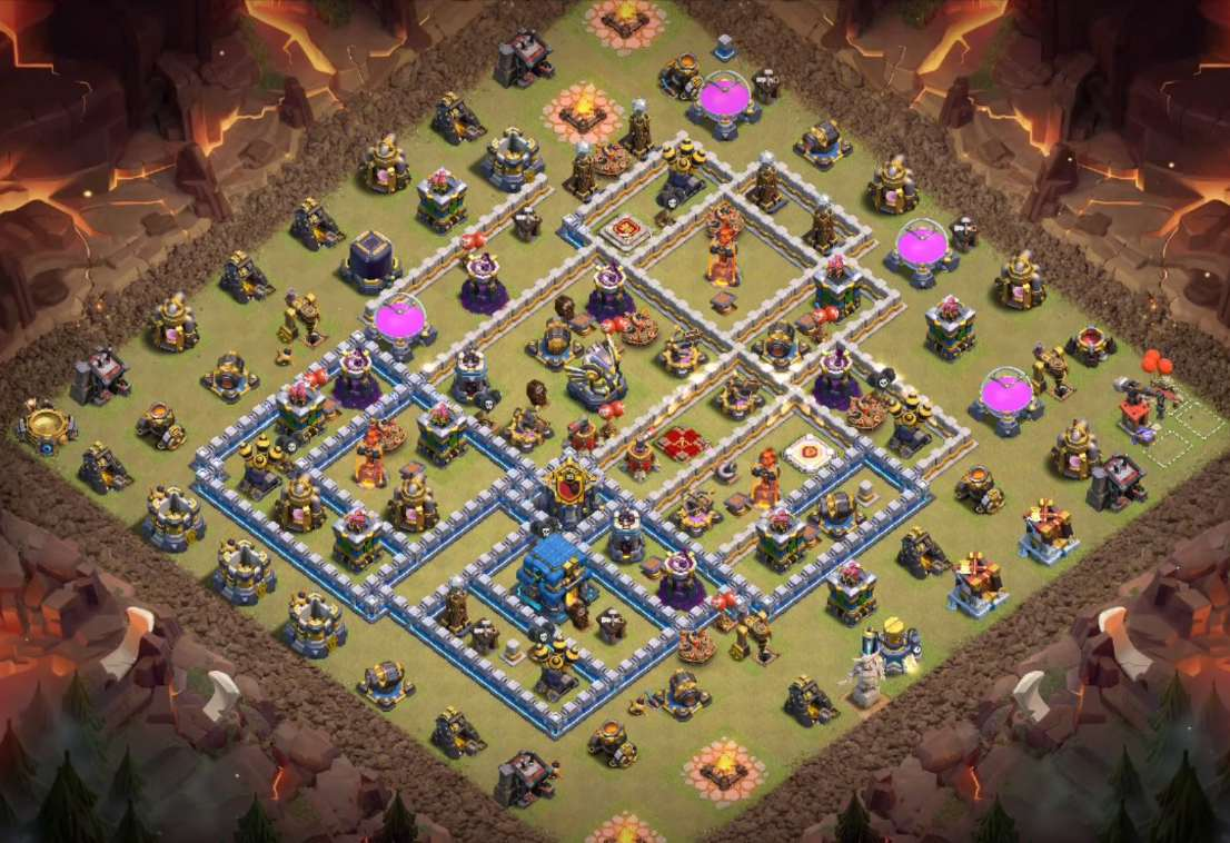 best town hall 12 war base link copy