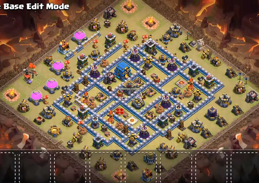 top th12 war base design link