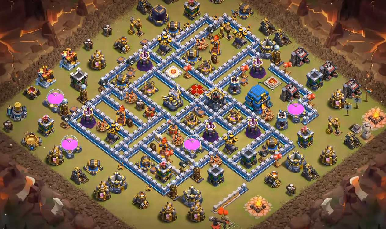 level 12 war base layout