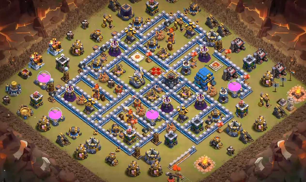level 12 war base layout
