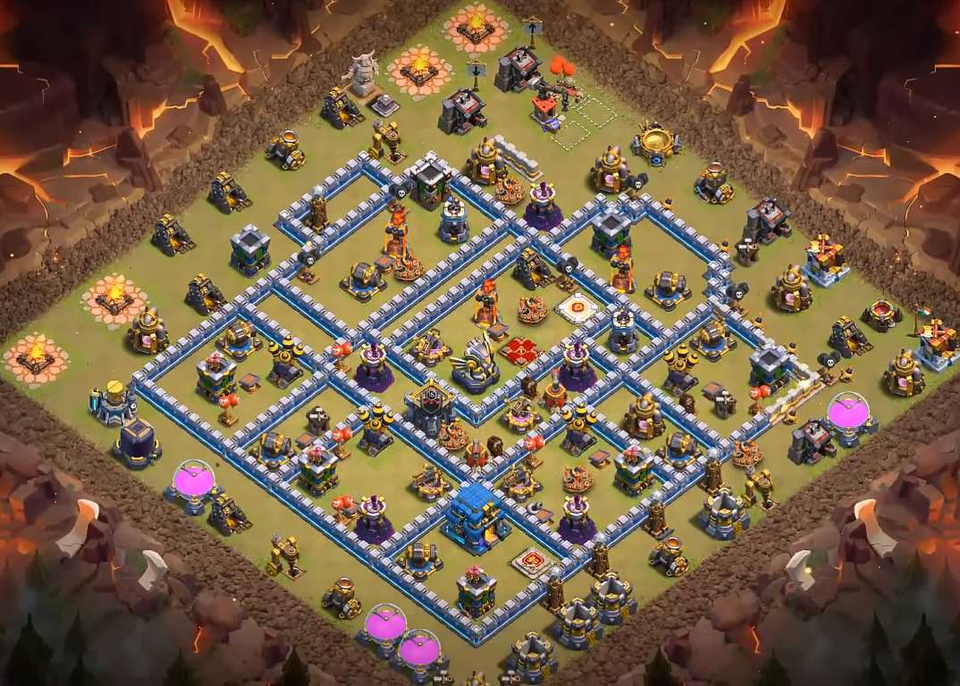 th12 war base layout 2020 link