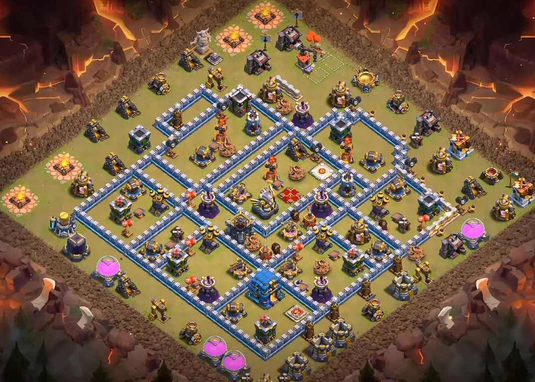 th12 war base layout 2020 link