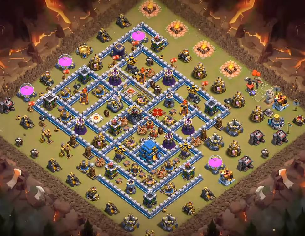 anti 3 star level 12 map link download