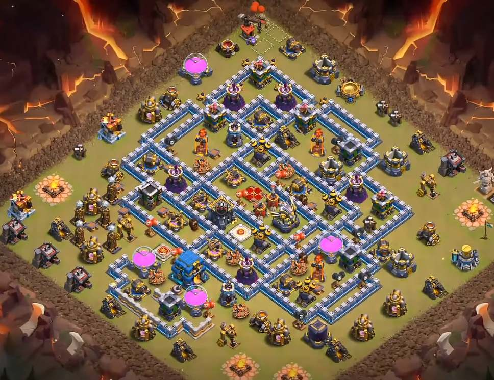 clash of clans town hall 12 war village link copy