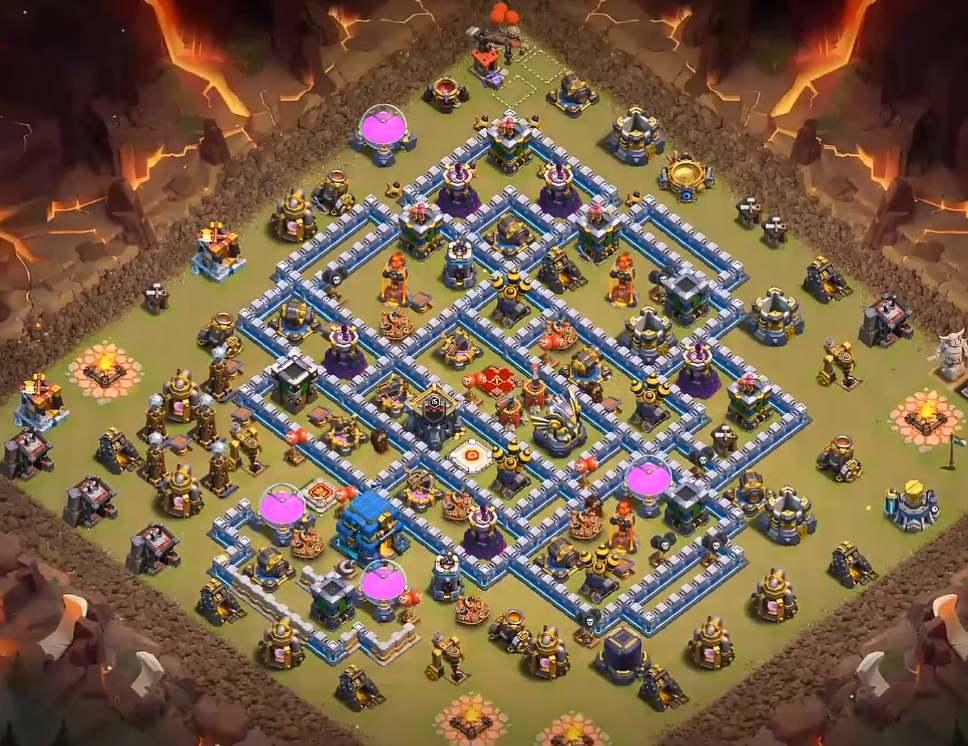 clash of clans town hall 12 war village link copy