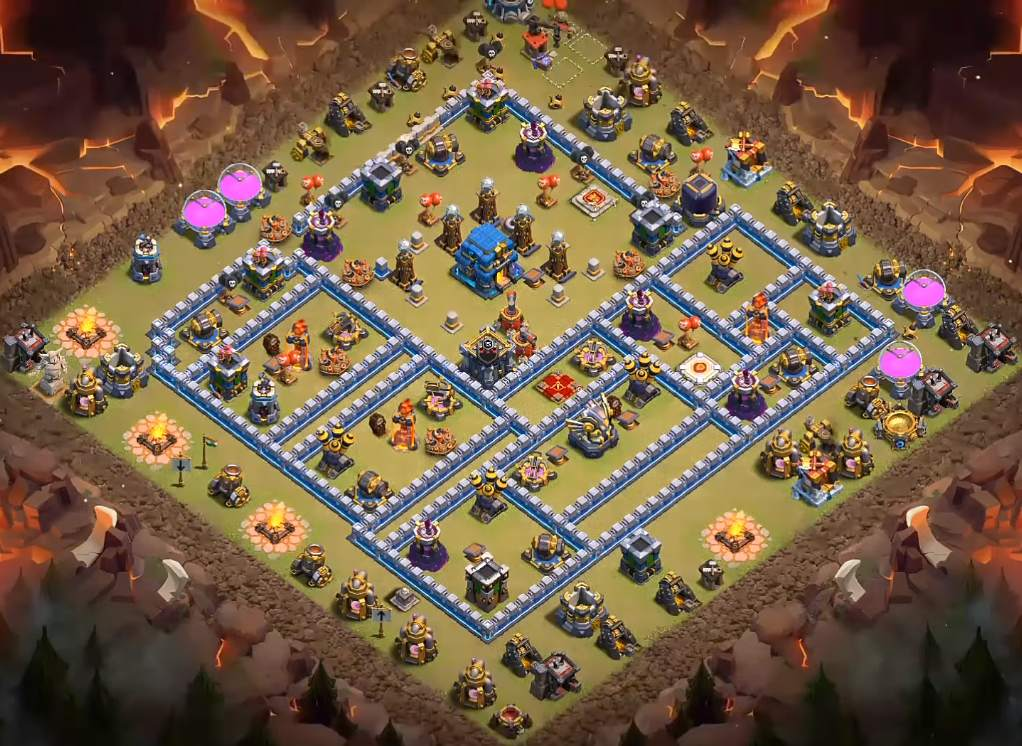 anti electro dragon th12 war layout copy link