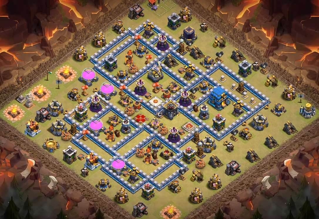 cc centered th12 war layout 2020