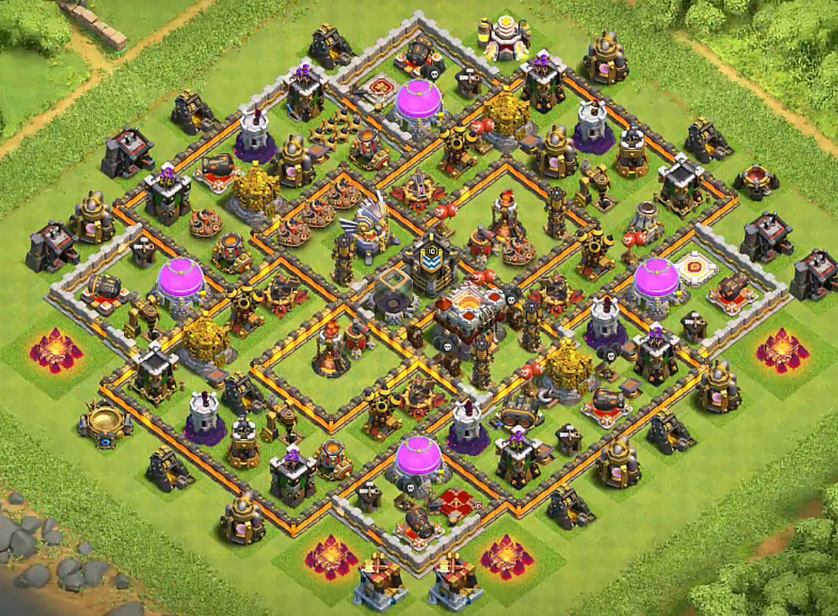 Coc Th11 Farming Base 5