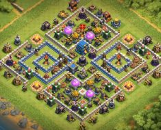 best th12 farming base 3 inferno