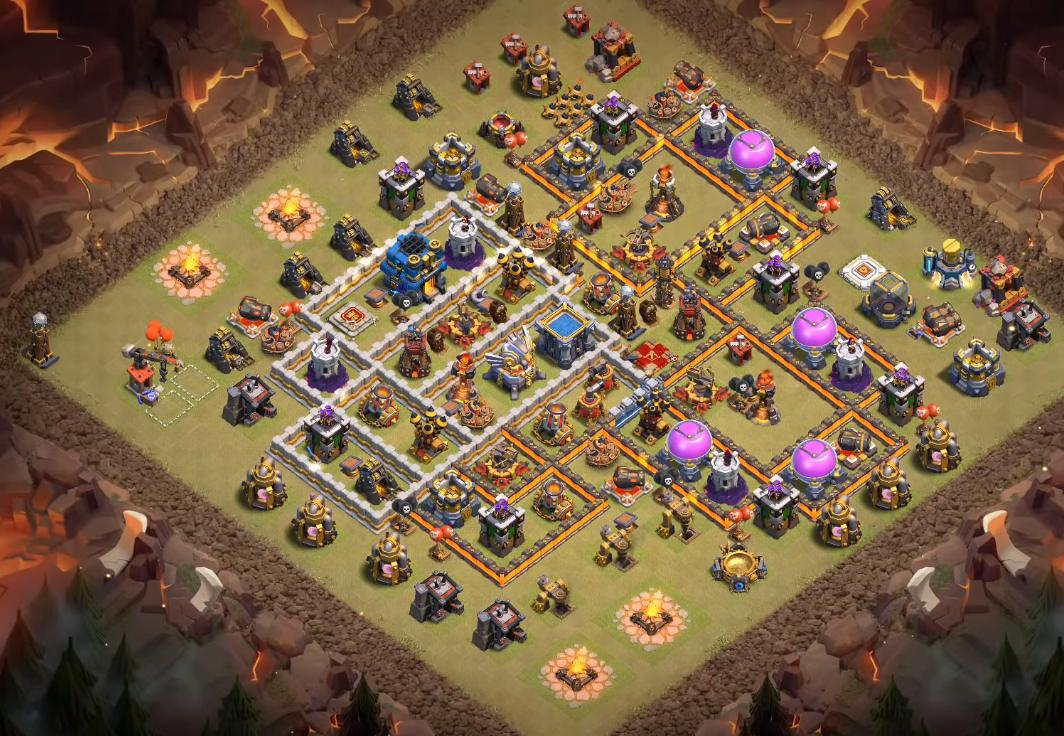 best th12 war base