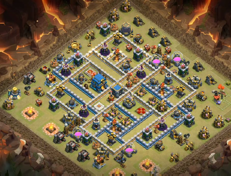 Th12 War Base Base Coc Th 12 Terkuat 2019 9