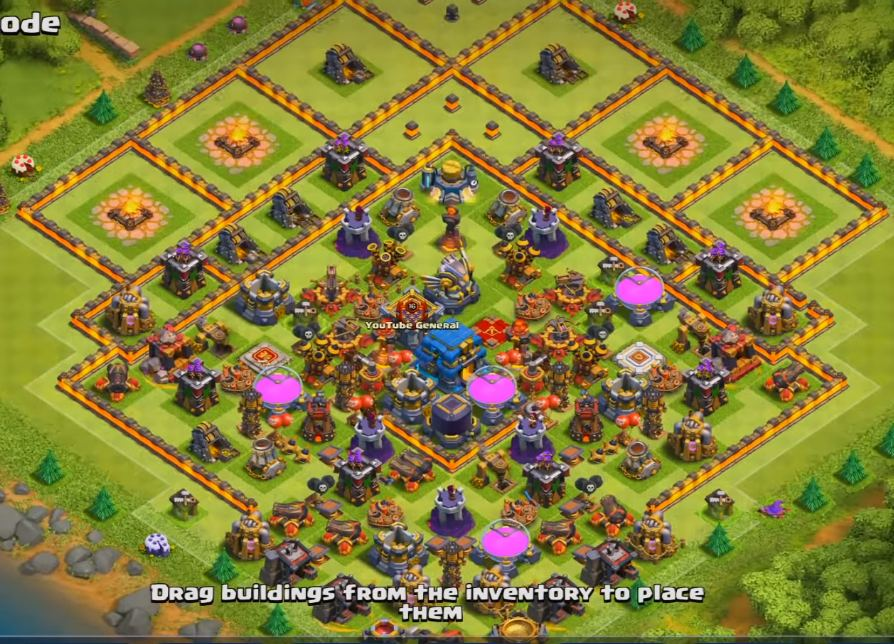 th12 farming base
