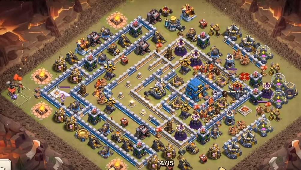 th12 war base 2019