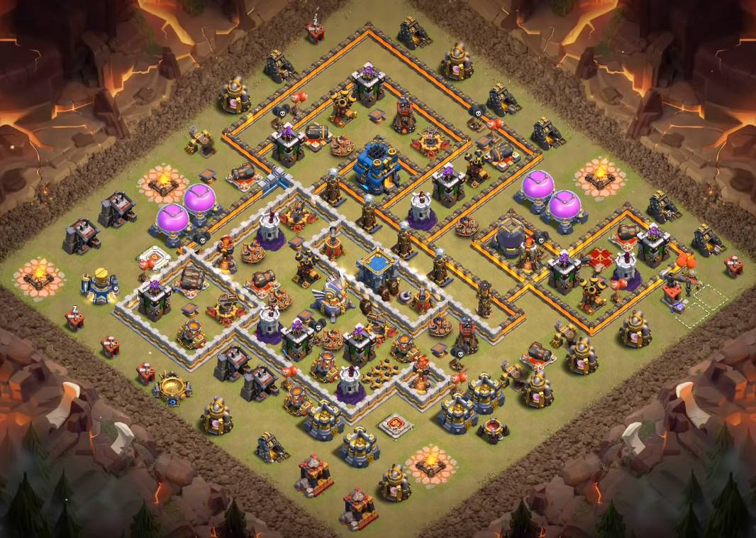 th12 war base